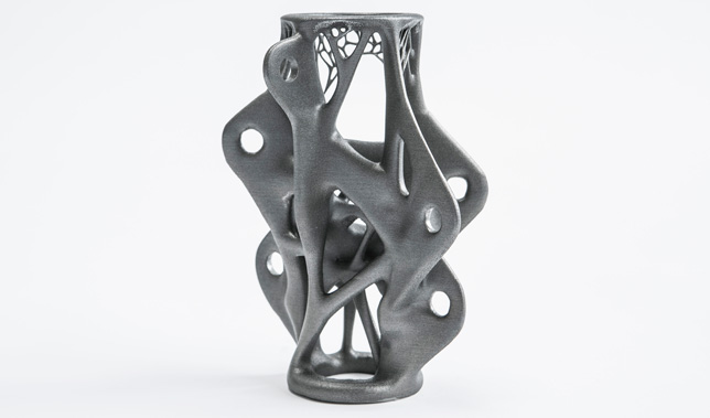 "The use of CAD and 3D printing allows for such a ""perfect"" structure to be manufactured for the first time."